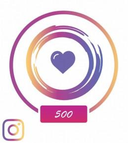 Заказать +500 лайков в Instagram с гарантом