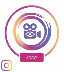 Заказать +1 000 просмотров в Instagram