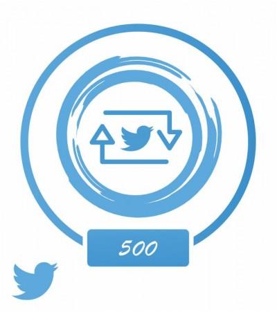 Заказать +500 ретвитов на твиты