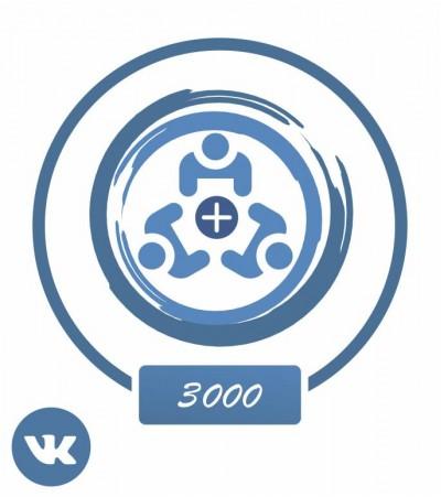 Заказать +3000 подписчиков Вконтакте + активность!
