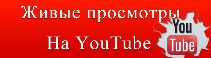 Просмотры на канал YouTube