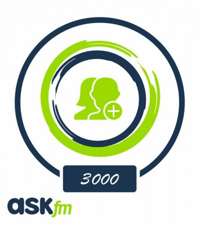 Заказать +3000 подписчиков на Ask.fm