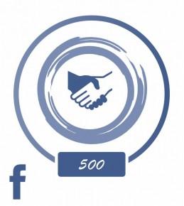 Заказать +500 подписчиков в Facebook