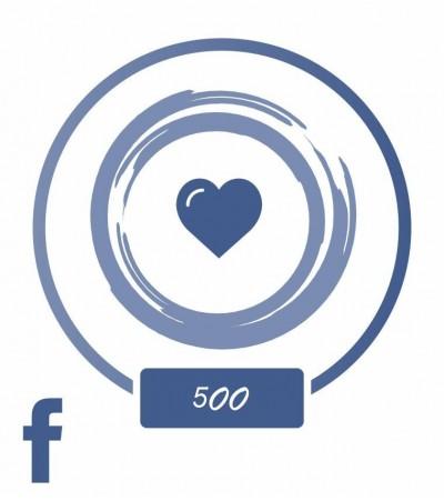 """Заказать +500 """"Нравиться"""" в Facebook"""