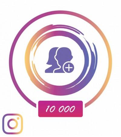 Заказать +10 000 подписчиков в Instagram +20% страховка