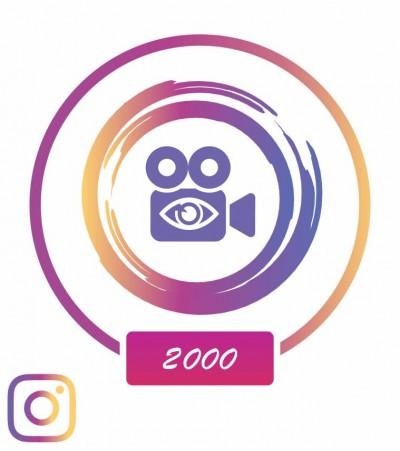 Заказать +2000 просмотров в Instagram