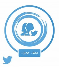 Аккаунт актив (Twitter) +300-800 подписок