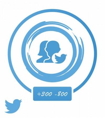 Аккаунт актив (Twitter) +250-350 подписок