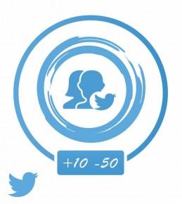 Vip (Twitter) аккаунты от +10 до +50 тыс.читателей