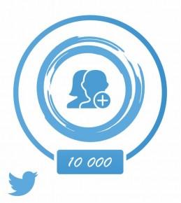 Заказать +10 000 фолловеров в Twitter